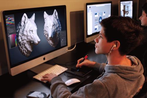 Teen Digital Art Classes Larchmont One River