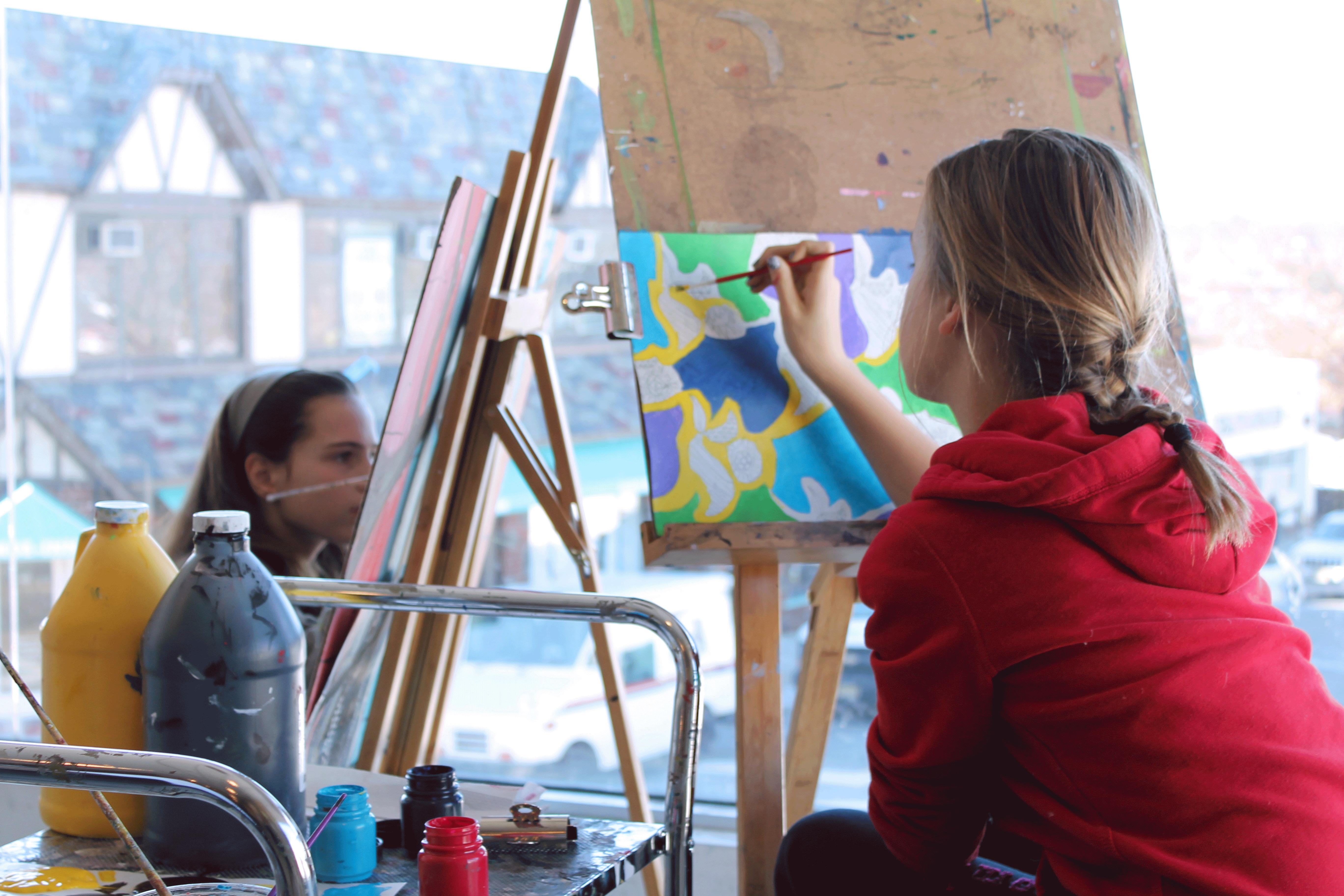 Teen Summer Camp Larchmont One River Art Digital